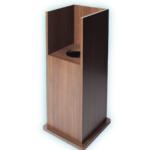 木製ボックス型スタンド
